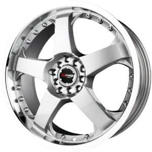 Drag D11 Silver Machined Wheel (18x7.5/5x100mm
