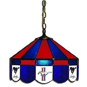 Mustang 16 Stained Glass Swag Hanging Lamp   160SWc MUS