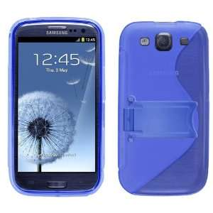 iTALKonline SOLID BLUE WAVE Part Silicone Gel Crystal