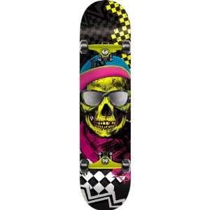 Black Blue Pink Ppp Skateboarding Completes