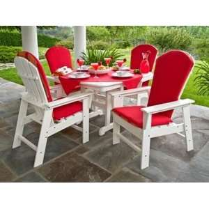 South Beach Recycled Plastic Patio Dining Set Patio, Lawn & Garden