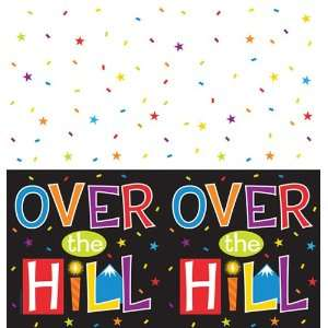 Over the Big Hill Plastic Banquet Table Covers Health