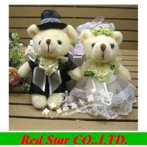 teddy bears stuffed animals plush toys plush 5pair/lot tinny bear