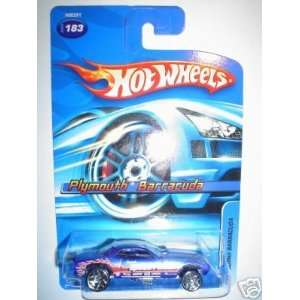 2005 Hot Wheels Plymouth Barracuda # 183 164 Scale Toys