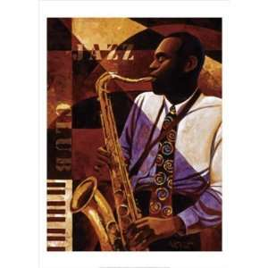 Keith Mallett   Jazz Club Canvas