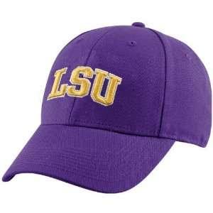 by Nike LSU Tigers Purple Classic Logo Flex Fit Hat