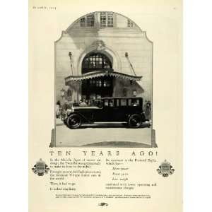 1924 Ad Motor Car Packard Eight Automobile Car Engine