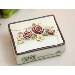 opean Style Hand painted Pattern Jewelry Case/Home Decoration