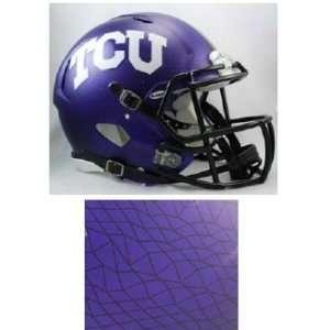 TCU Horned Frogs Speed HYDROFX Pro Line Helmet Sports