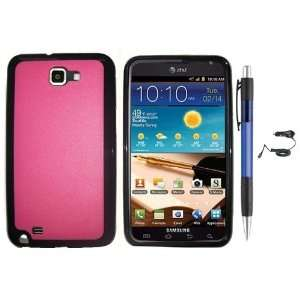Black Trim With Pink Design Protector Cover Case for