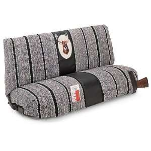 Saddle Blanket Bench Seat Cover, GRAY