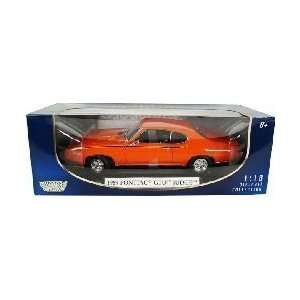 69 Pontiac GTO Judge 1:18 Scale Die Cast Vehicle: Toys & Games