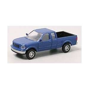 Atlas HO Scale Ford F 150 Pickup Truck   Moonlight Blue: Toys & Games