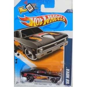 Mattel Hot Wheels HW RACING 12 BLACK 68 NOVA 1/10 #171