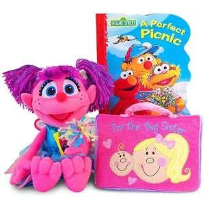 com Sesame Street Abby Cadabby Gift Set for Big Sister Toys & Games