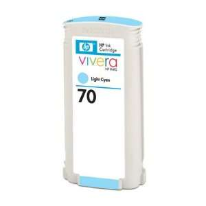 Hewlett Packard 70 Ink Light Cyan 130 Ml High Quality