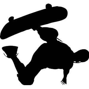 Skateboarding Vinyl Wall Decal
