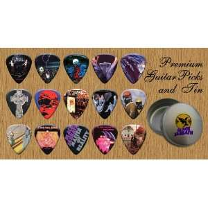 Sabbath Premium Guitar Picks X 15 In Tin (G) Musical Instruments