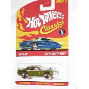 Gold 5 Spoke Redlines Collectible Collector Car Mattel Hot Wheels