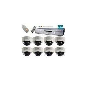 Security System, 8 Channel Standalone DVR Package: Camera & Photo