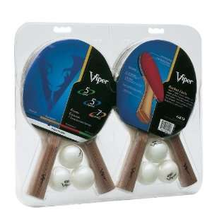 Four Racket Table Tennis Set