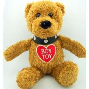 8 Valentines Day Heart Toy Teddy Bear Brown Plush Boy Toy