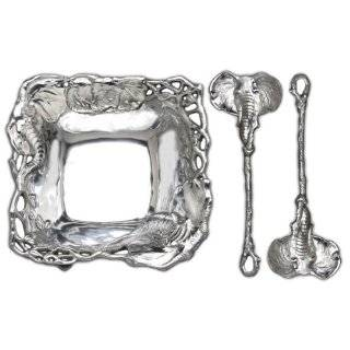 Arthur Court Elephant 2 Piece Salad Serving Set  Kitchen