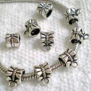30pcs Tibetan Silver Pendant Link Fits Charm Bracelet