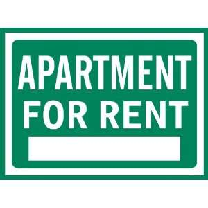 Apartment For Rent Sign Removable Wall Sticker