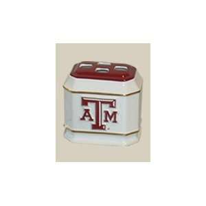 Aggies TAMU NCAA Ceramic Toothbrush Holder: Sports & Outdoors