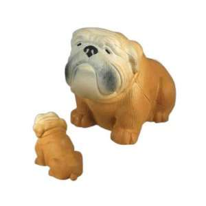 Bulldog   Stress reliever in the shape of a farm animal. Toys & Games