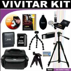 Vivitar Brand Deluxe Accessory Kit Which Includes Tripods