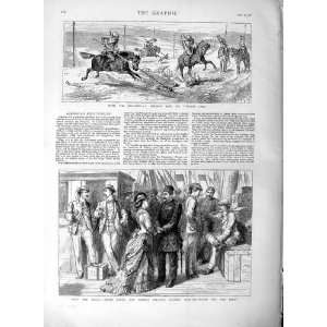 1877 Russian Cossacks Turkish Dogs Baker Pasha War Army