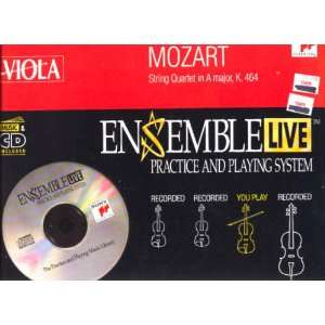 String Quartet 18 / Viola Mozart, Ensemble Live Music