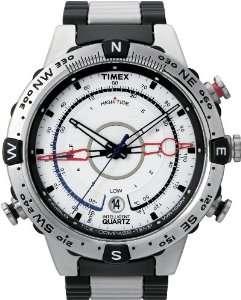 Timex Intelligent Quartz T2N722 Mens PREMIUM IQ White Steel Watch