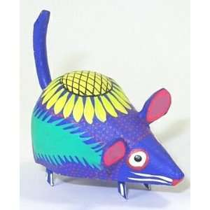 Mouse 2 Inch Oaxacan Wood Carving Home & Kitchen