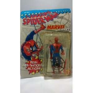 The Amazing Spider Man Action Figure with Real Web Shooting  Toys