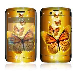 Wings of Gold Decorative Skin Decal Cover Sticker for BlackBerry Storm