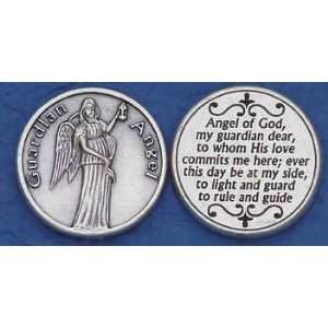 Guardian Angel Religious Coin Pocket Token: Everything