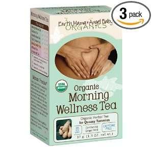 Earth Mama Angel Baby Organic Morning Wellness Tea, 16 Teabags/Box