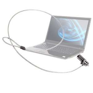 DURAGADGET Durable Laptop Padlock With Strong Steel