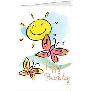Birthday Son Daughter Child Niece Greeting Card (5x7) by QuickieCards