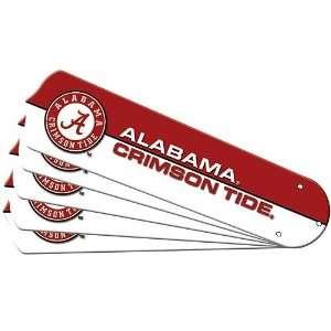Alabama Crimson Tide 42 Ceiling Fan Blade Set