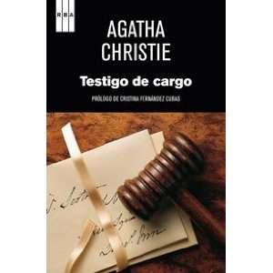TESTIGO DE CARGO (9788498678888): AGATHA CHRISTIE: Books