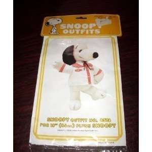 Outfits for 18 Plush Snoopy   Western Square Dance Shirt & Tie Outfit