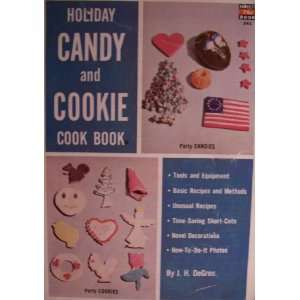 Holiday Candy and Cookie Cook Book [ 1954, Fawcett Book No