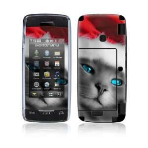 LG Voyager (VX10000) Decal Skin   Christmas Kitty Cat