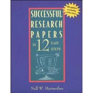 Research Papers in 12 Easy Steps (9780658012143): McGraw Hill: Books