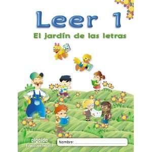 El jardín de las letras. Leer 1 Educación Infantil