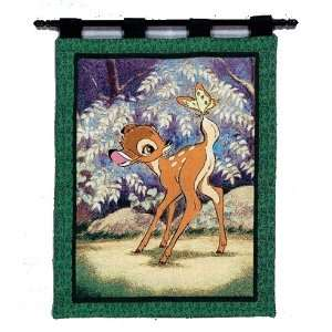 Disney Tapestry Wall Hanging   Bambi in the Forest